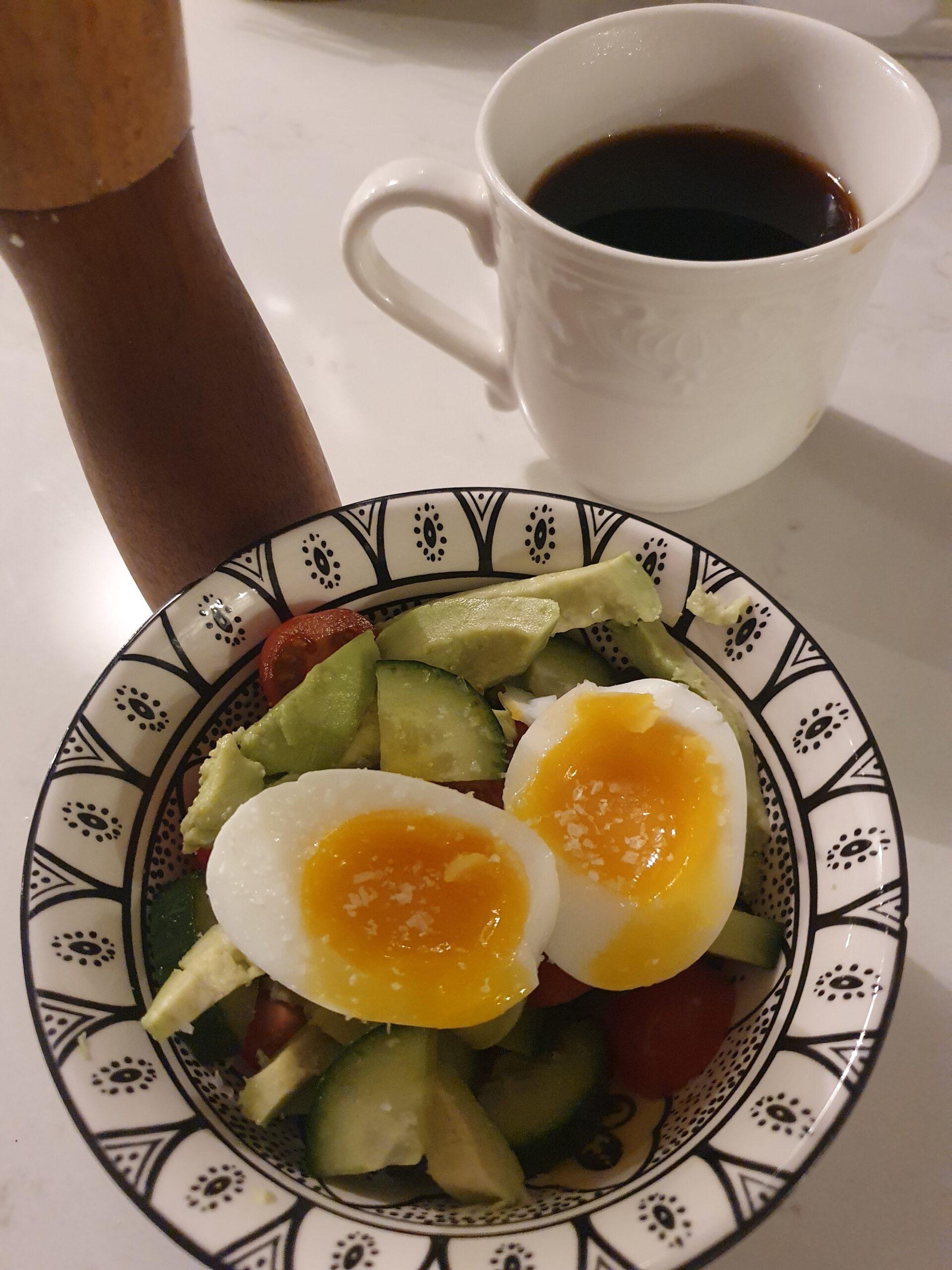 frukost dagen efter tex.